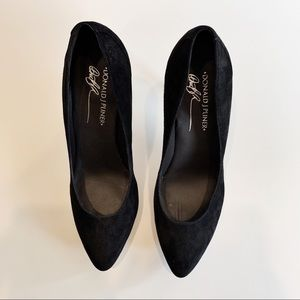 Donald J. Pliner Shoes - NWOB Donald J. Pliner Edrice Suede Pumps
